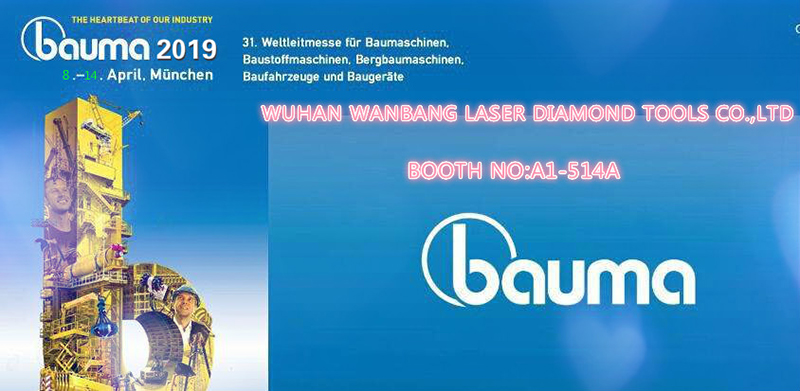 Bauma Fair 2019 on April 8-14 in Munich Booth No. A1.514A